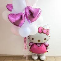 """Воздушные шары """"Китти розовый"""""""