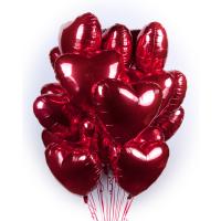 """Воздушные шары """"25 сердец"""""""