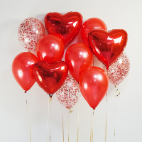 """Воздушные шары """"Страстная любовь"""""""
