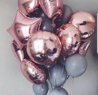 """Воздушные шары """"50 оттенков серого"""""""