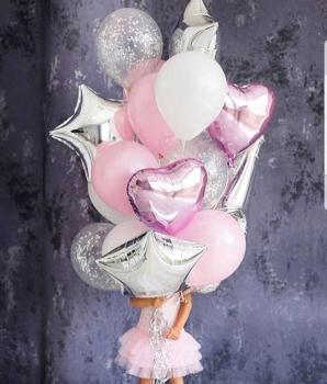 """Воздушные шары """"Маленькая принцесса"""""""