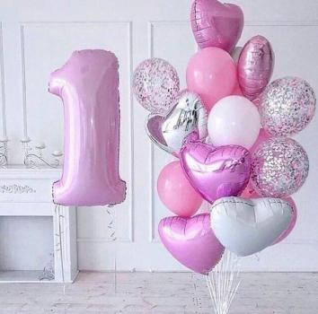 """Воздушные шары """"Для маленькой принцессы"""""""