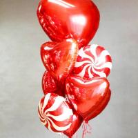"""Воздушные шары """"Большое сердце"""""""