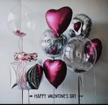 """Воздушные шары """"Любовь"""""""