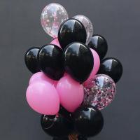 """Воздушные шары """"Черный"""""""
