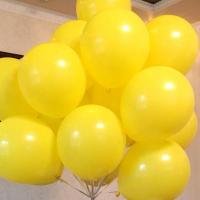 """Воздушные шары """"Желтый мини"""""""