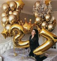 """Воздушные шары """"Gold 15"""""""