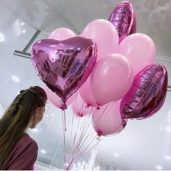 """Воздушные шары """"Нежный подарок"""""""