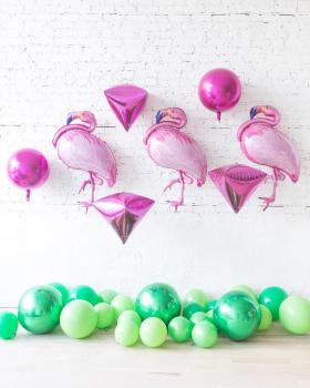 """Воздушные шары """"Стая фламинго"""""""