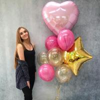 """Воздушные шары """"Для любимой"""""""