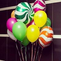 """Воздушные шары """"Фруктовые леденцы"""""""