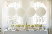 """Воздушные шары """"Белый"""""""