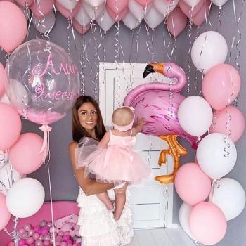 """Воздушные шары """"Фламинго"""""""