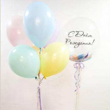 """Воздушные шары """"Макарунс 1"""""""