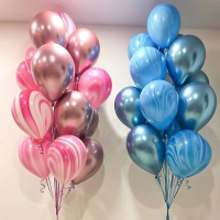 """Воздушные шары """"2 цвета"""""""