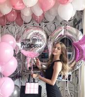 """Воздушные шары """"Принцессе"""""""