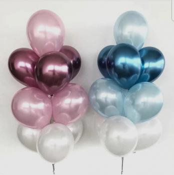 """Воздушные шары """"Хромированные облака"""""""