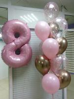 """Воздушные шары """"Розовая фантазия"""""""