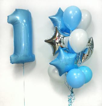 """Воздушные шары """"Первый день рождения малыша"""""""