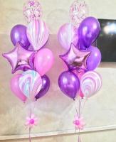 """Воздушные шары """"Агат нежно-розовый"""""""
