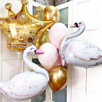 """Воздушные шары """"Лебедь"""""""