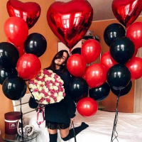 """Воздушные шары """"Красная любовь"""""""