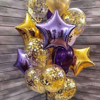 "Воздушные шары ""Лаванда"""