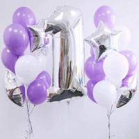 """Воздушные шары """"Цифра 1"""""""