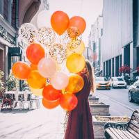 """Воздушные шары """"Солнечное настроение"""""""