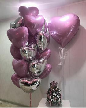 """Воздушные шары """"Сердце 1"""""""