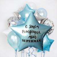 """Воздушные шары """"Supermen"""""""