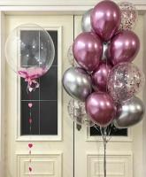 """Воздушные шары """"Хром 5"""""""