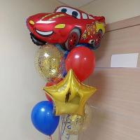 """Воздушные шары """"Машинка"""""""