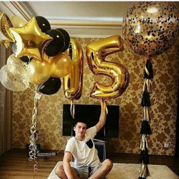 """Воздушные шары """"Для него"""""""