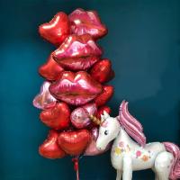 """Воздушные шары """"Волшебный поцелуй"""""""