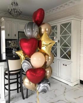 """Воздушные шары """"Стильный"""""""