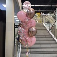 """Воздушные шары """"Розовый фонтанчик"""""""
