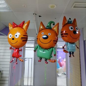 """Воздушные шары """"Три кота"""""""