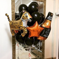 """Воздушные шары """" Мой Тигр"""""""