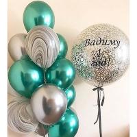 """Воздушные шары """"Малахит"""""""