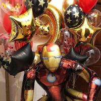 """Воздушные шары """"Железный человек"""""""
