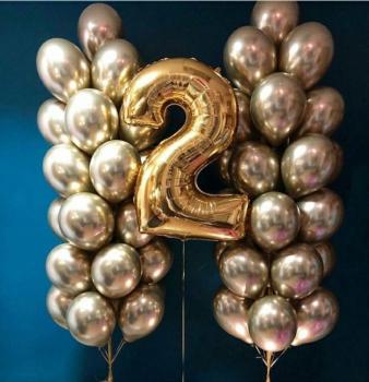 """Воздушные шары """"Gold 7"""""""