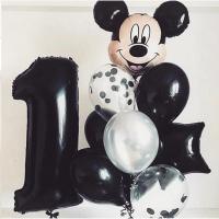 """Воздушные шары """"1й день рождения с Микки"""""""