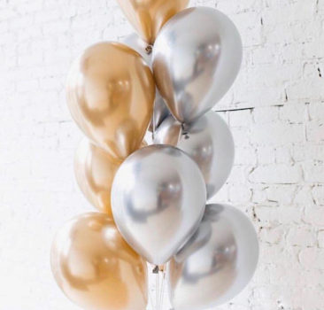 "Воздушные шары ""Gold and Silver"""