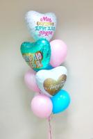 """Воздушные шары """"Мы созданы друг для друга"""""""