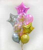 """Воздушные шары """"Для девушки"""""""