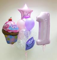 "Воздушные шары ""Sweet 1st birthday"""