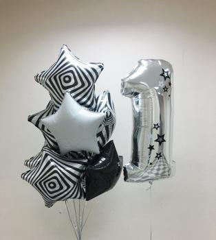 """Воздушные шары """"Стильный день рождения!"""""""