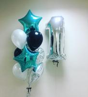 "Воздушные шары ""Бирюза"""