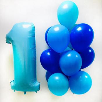 """Воздушные шары """"1-й День Рождения малыша"""""""